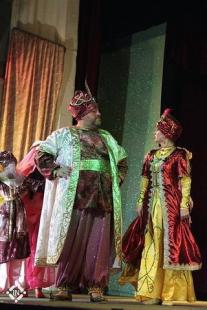 """Спектакль """"Волшебная лампа Алладина"""" - Султан"""